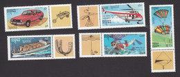 Cambodia, Scott #1212-1216, Mint Hinged, Leonardo Da Vinci, Issued 1992 - Cambodge