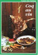 CUISINE DES CANTOUS - COQ AU VIN - Küchenrezepte