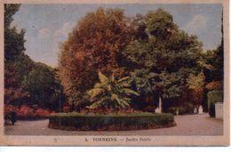 Tonneins -  Jardin Public - 1947 - Tonneins