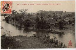 TONKIN -  Moncay - Frontière Chinoise Et Rivière De Tong-Hinh  ( Viêt-Nam) - Viêt-Nam