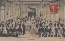 Santé - Asile National Des Convalescents Saint-Maurice - 1913 - Réfectoire - Santé
