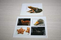 Fauna Birds Scorpion Marine Life Frogs  2017 St. Kitts  National Geographic - Stamps