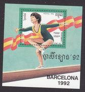 Cambodia, Scott #1229, Mint Hinged, Olympic, Issued 1992 - Cambodia