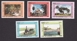 Cambodia, Scott #1230-1234, Mint Hinged, Environmental Protection, Issued 1992 - Cambodia
