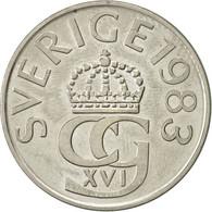 Suède, Carl XVI Gustaf, 5 Kronor, 1983, TTB+, Copper-nickel, KM:853 - Suède
