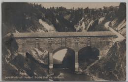 Waldstatt-Hundwil - Brücke über Die Urnäsch - Photo: Frei - AR Appenzell Rhodes-Extérieures