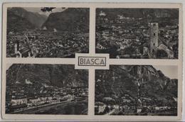 Biasca - Multiview - Photo: Ditta G. Mayr No. 2895 - TI Tessin