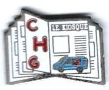 AMBULANCE - A5 - CHG CENTRE HOSPITALIER - LE KIOSQUE - Verso : SVAN - Pins