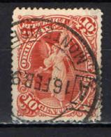 URUGUAY - 1897 - SIMBOLO DELL'ELETTRICITA' - USATO - Uruguay