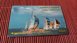 Phonecard Antiga & Barbuda Number 13 CATB Used Rare - Antigua And Barbuda