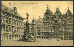 WW1 Belgium Anvers Postcard Army Post Office Censor - York, England. Field Post Office. OAS O.A.S. - WW I