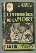 MIGNON G. EBERHART L'infirmière De La Mort 1949 - Livres, BD, Revues