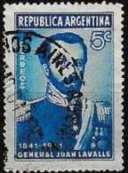 ARGENTINA 1941 Death Centenary Of Gen. Lavalle - 5c Gen. Juan Lavalle FU - Used Stamps