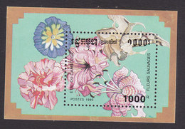 Cambodia, Scott #1269, Mint Hinged, Orchids, Issued 1993 - Cambodge