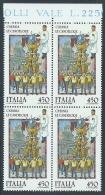 1986 ITALIA FOLCLORE CATANIA LE CANDELORE QUARTINA MNH ** - ED-2 - 6. 1946-.. Republik