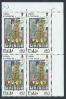 1986 ITALIA FOLCLORE CATANIA LE CANDELORE QUARTINA MNH ** - ED-3 - 6. 1946-.. Republik