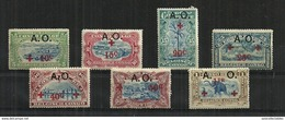 Ruanda-Urundi - 1918 Red Cross Stamps Of Belge Congo MH - Ruanda-Urundi