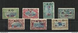 Ruanda-Urundi - 1918 Red Cross Stamps Of Belge Congo MH - 1916-22: Mint/hinged