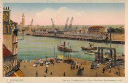 CPA-1925-50-CHERBOURG-Vue De L AVANT PORT-La GARE MARITIME-Edit CAP-TBE - Cherbourg