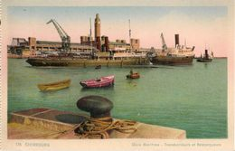 CPA-1925-50-CHERBOURG-La GARE MARITIME-Edit CAP-TRANSBORDEURS Et REMORQUEURS-TBE - Cherbourg
