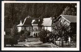 A6041 - Alte Foto Ansichtskarte - Weitisberga . Mühle - Otto Meyer - Wurzbach
