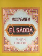 4834 - Mostaganem El Sadda Algérie - Etiquettes
