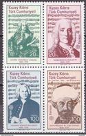 Türk. Zypern - Mi.Nr. 166 - 169 - Postfrisch MNH - Europa CEPT - 1985