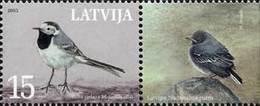 Latvia - National Bird - White Wagtail, 2003 - MNH - Letland
