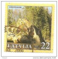"Latvia -2006 ROCK - ""ZVARTA"" -- Used (0) - Lettonie"