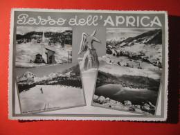 CARTOLINA PASSO DELL' APRICA 4 VEDUTINE  - C 297 - Sondrio