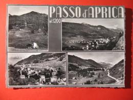 CARTOLINA PASSO D' APRICA 4 VEDUTINE  - C 298 - Sondrio