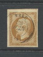 France 1853 Napoleon 10 Cent Bistre Die 11   Superb. Used - 1853-1860 Napoleon III
