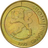 Finlande, Markka, 1993, SUP, Aluminum-Bronze, KM:76 - Finlande