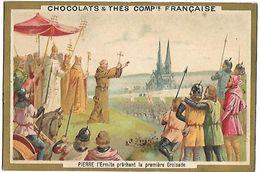 CHROMO -  CHOCOLATS & THES COMPAGNIE FRANCAISE - Pierre L'Ermite - Chocolat