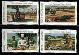 BOPHUTHATSWANA, 1988, Mint Never Hinged Stamps , MI 202-205, National Parks, - Bophuthatswana