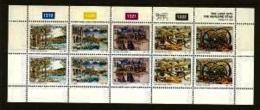 BOPHUTHATSWANA, 1993 Mint Never Hinged Stamp(s ) In Full Sheet, MI 285-289, The Lost City - Bophuthatswana