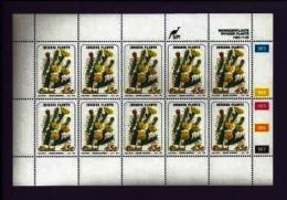 CISKEI, 1993, Mint Never Hinged Stamp(s ) In Full Sheet(s), MI 242-245, Invader Plants,  S953 - Ciskei