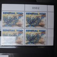SENEGAL CENTENAIRE BATAILLE CHEMIN DES DAMES CENTENARY WORLD WAR 1 WW1 WWI HISTORY HISTOIRE BLOC DE 4 2017 RARE MNH ** - Senegal (1960-...)