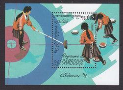 Cambodia, Scott #1339, Mint Hinged, Olympics, Issued 1994 - Cambodge