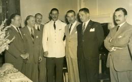 Argentine Buenos Aires Inauguration Siege Du Cercle Des Journalistes Sportifs Ancienne Photo 1955 - Sports