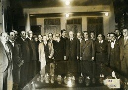 Argentine Buenos Aires Ricardo Aldao President Club Des Gymnastes Ancienne Photo 1935 - Sports