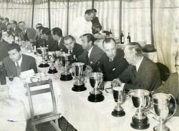 Argentine Buenos Aires Concours Agricole Banquet Trophees Ancienne Photo 1940? - Professions