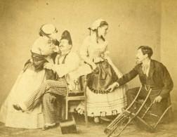 Theatre Tunis Second Empire Présence Française Ancienne Photo CDV Delintraz 1860 - Photographs