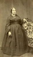 Madame Auguste Gay Tunis Second Empire Présence Française Ancienne Photo CDV 1860 - Photographs