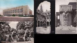 4 CPSM/pf (59) LILLE.  Hall De L'exposition. Jardin Vauban. Cour De L'ancienne Bourse. Monument Aux Morts.  ..G413 - Tourcoing