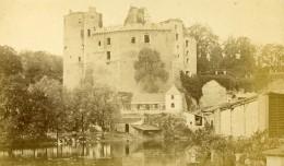 France Château De Clisson Sèvre Nantaise Ancienne Photo CDV Tresorier 1870 - Photographs