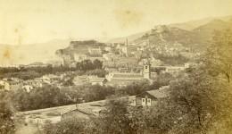 Italie Vintimille Panorama Riviera Italienne Ancienne Photo CDV Degand 1870 - Photographs