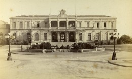 Monaco Casino Façade Ancienne Photo CDV Degand 1870 - Photographs