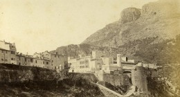 Monaco Le Palais Ancienne Photo CDV Davanne & Aleo 1870 - Photos