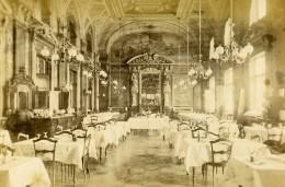 Monaco Monte Carlo Casino Restaurant Ancienne Photo CDV 1870 - Photographs